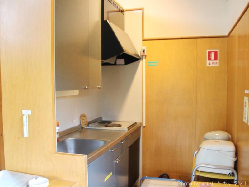 コテージのキッチン