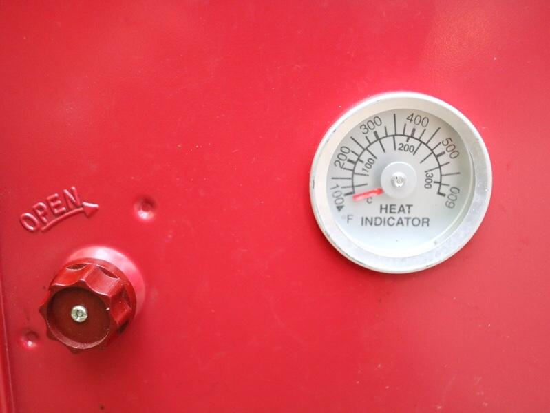 コールマンキャンピングオープンスモーカー 温度管理も