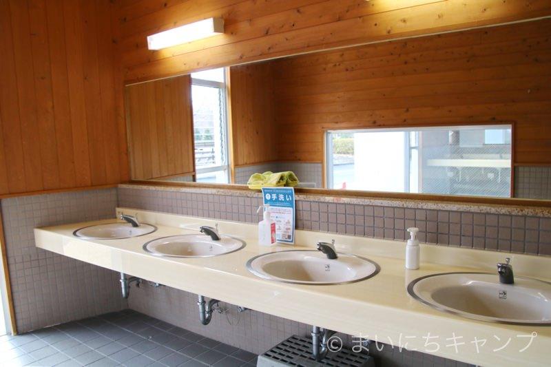 トイレもきれい!