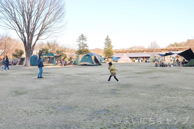 大子広域公園オートキャンプ場グリンヴィラは人気のキャンプ場