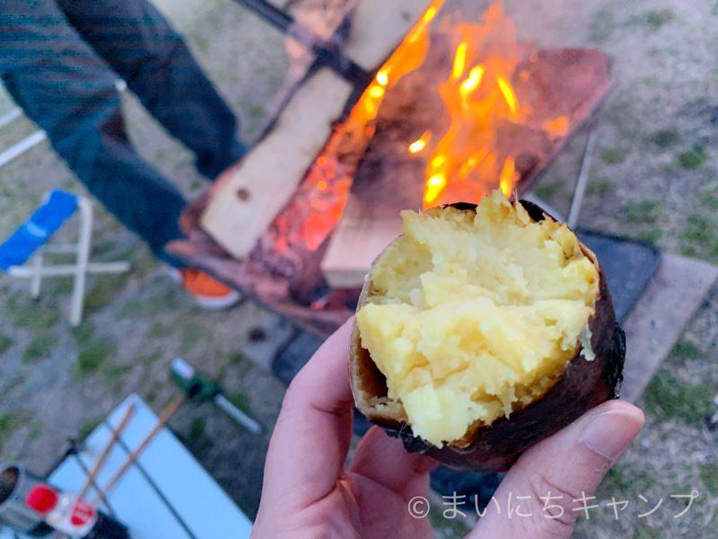 ホクホクの焼き芋が美味しい!