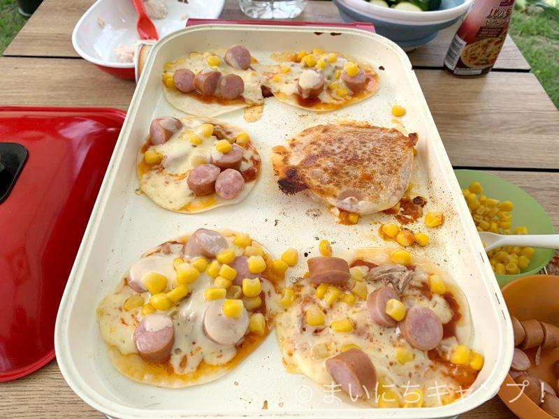 餃子の皮で作るピザが簡単で美味しい